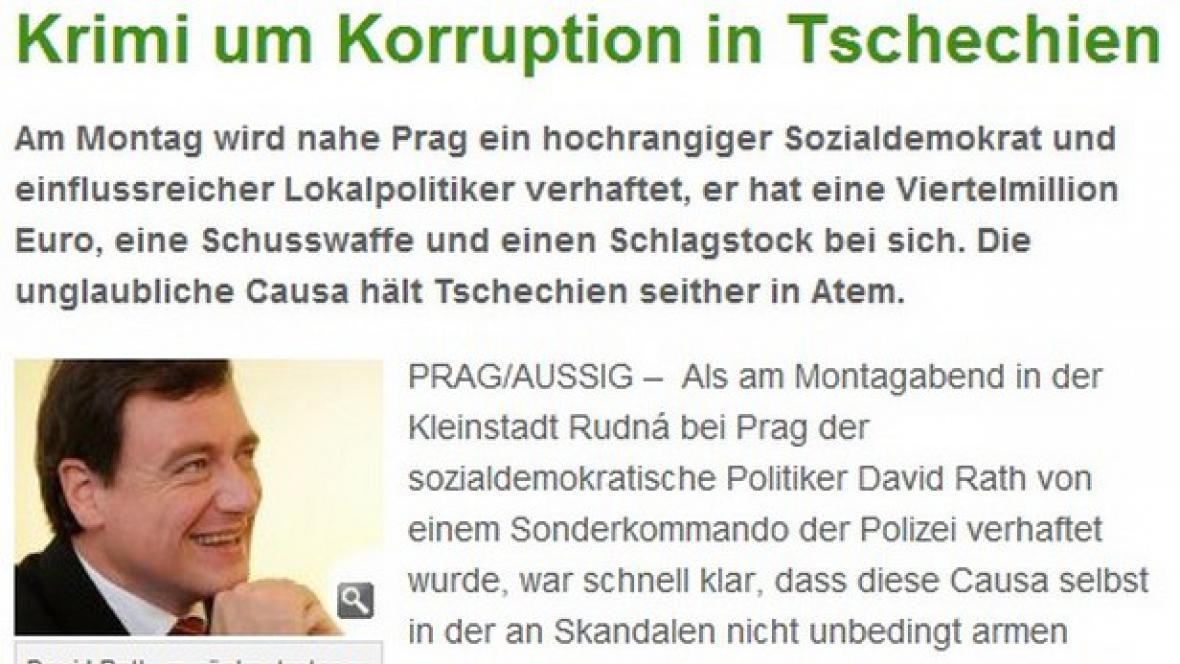 Frankfurter Rundschau o kauze Rath