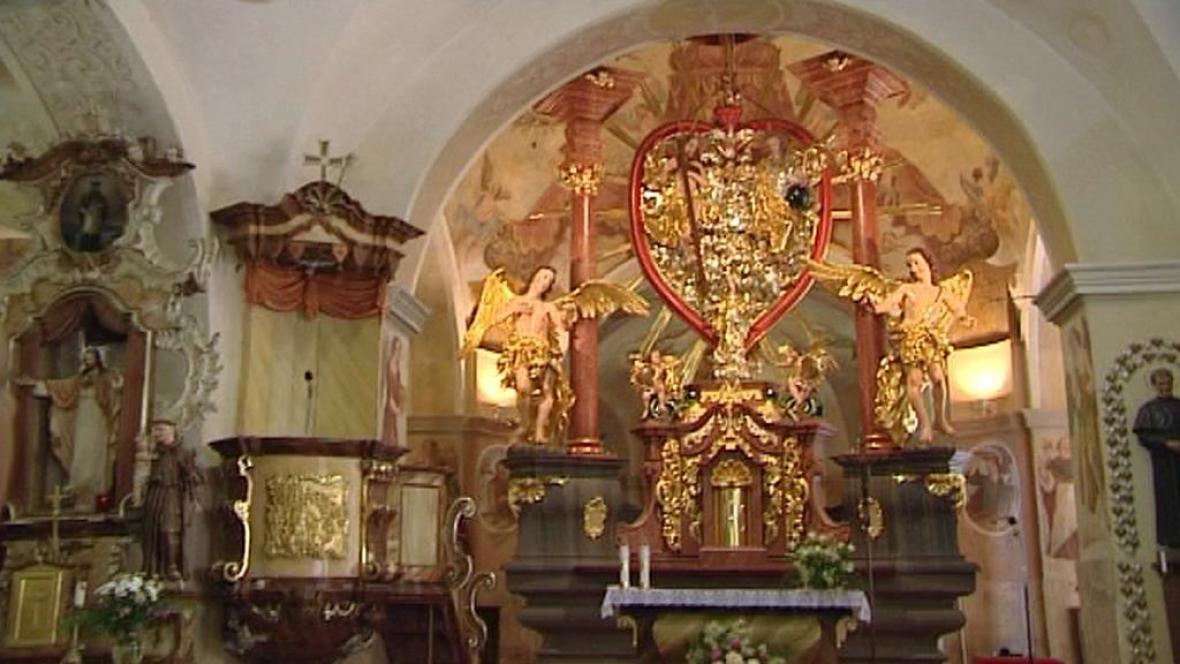 Oltář Nejsvětější Trojice