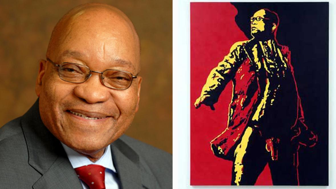 Jacob Zuma a jeho kontroverzní portrét