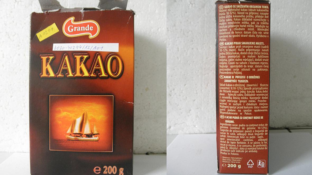 Kakaový prášek Grande