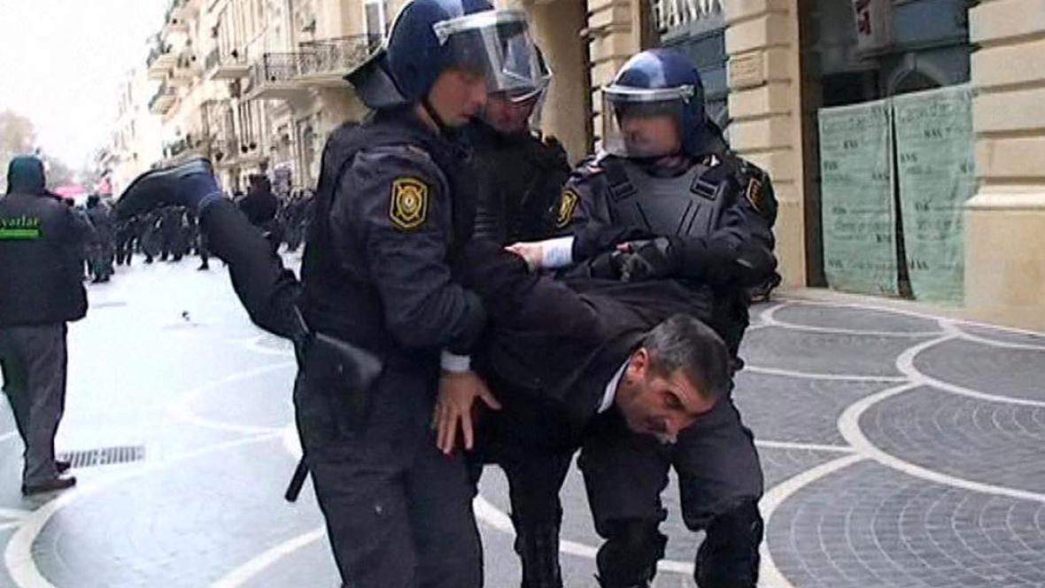 Nepokoje v Ázerbájdžánu