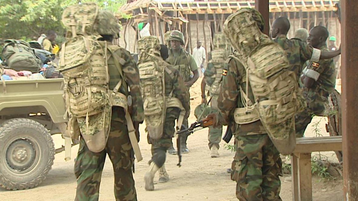Vojáci v Somálsku