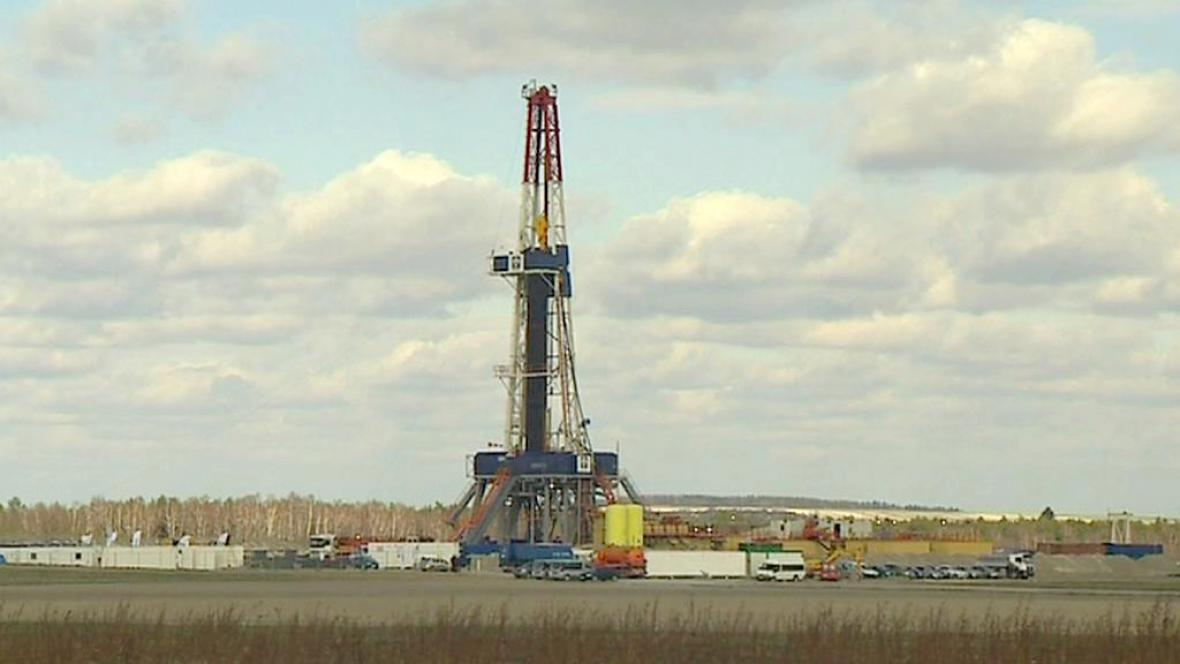 Těžba břidlicového plynu