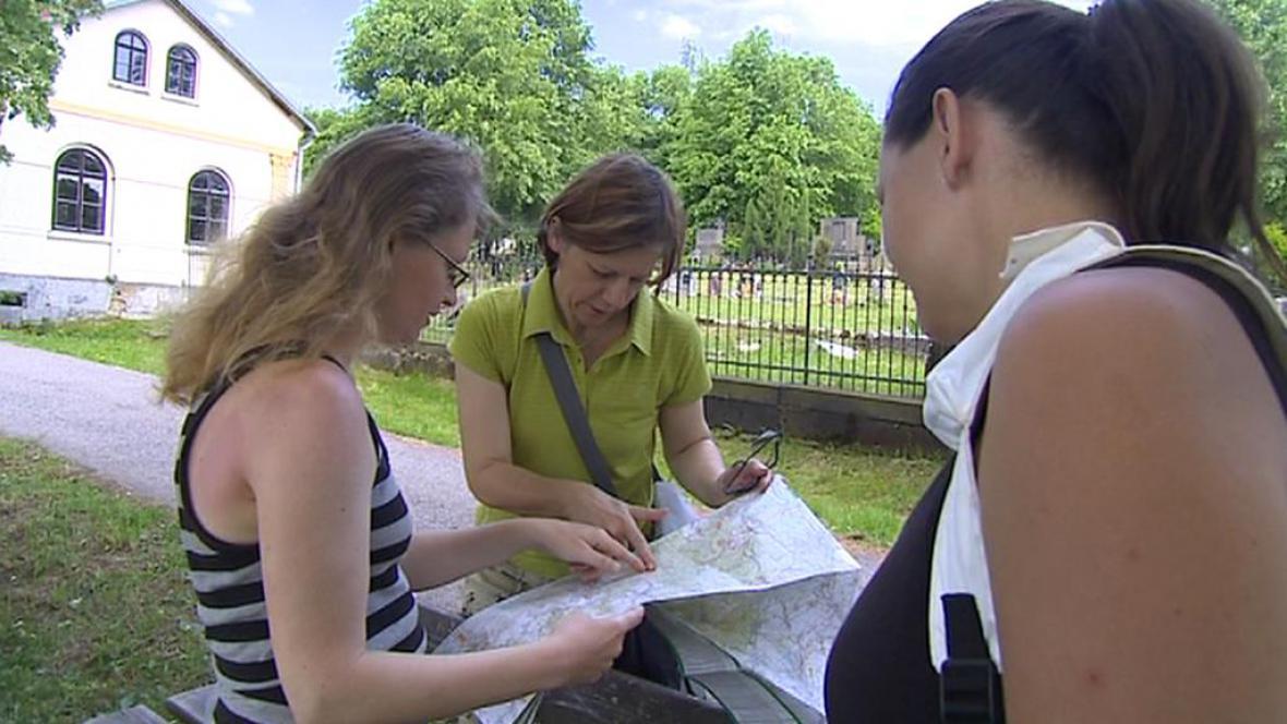 Milena Městecká se vydala na pochod ve stopách lidických žen