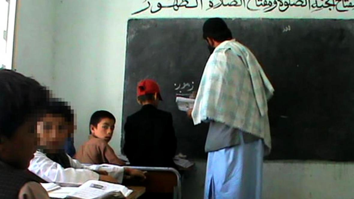 Afghánští školáci