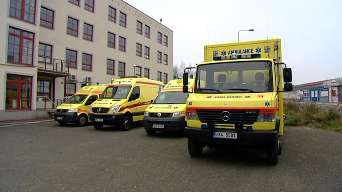 Vozy Záchranné služby Karlovarského kraje