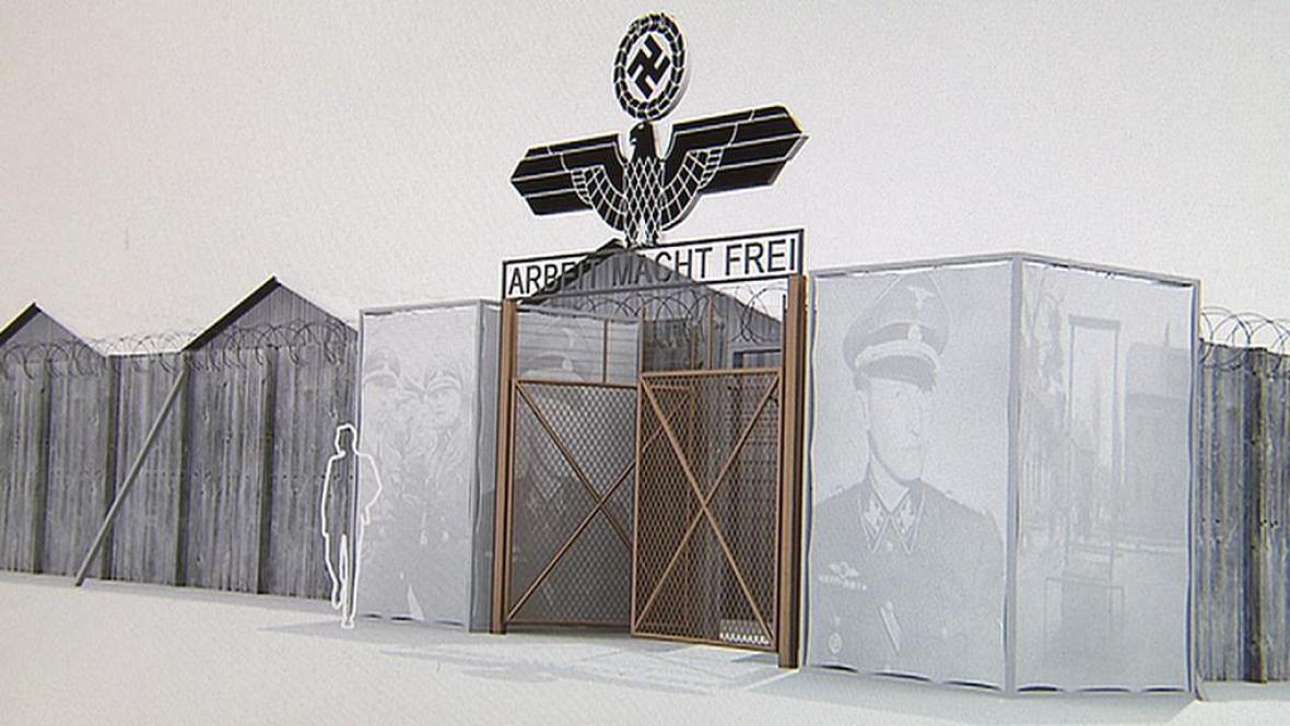 V Praze roste model koncentračního tábora
