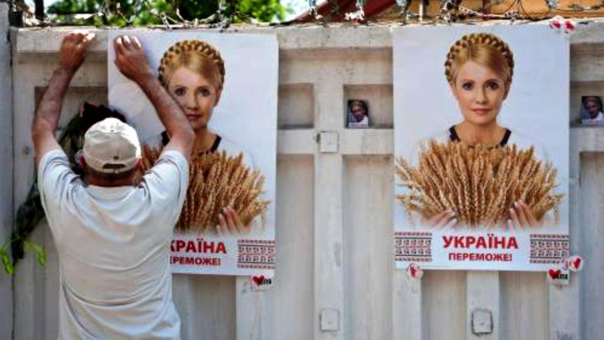 Podpora Juliji Tymošenkové