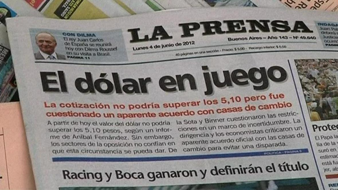 Argentinský tisk