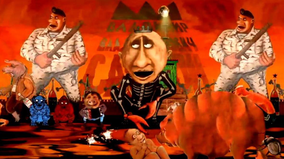 Vladimir Putin podle N.O.M.