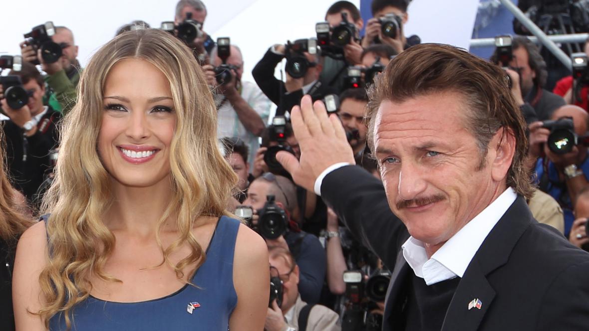 Petra Němcová a Sean Penn