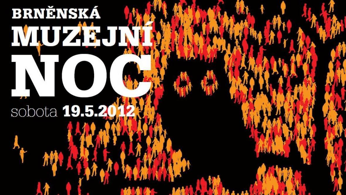 Plakát 8. ročníku Brněnské muzejní noci