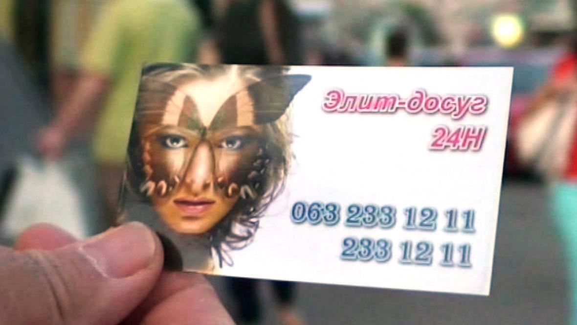 Prostituce na Ukrajině