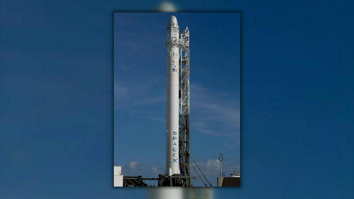 Raketa dopraví modul Dragon k ISS