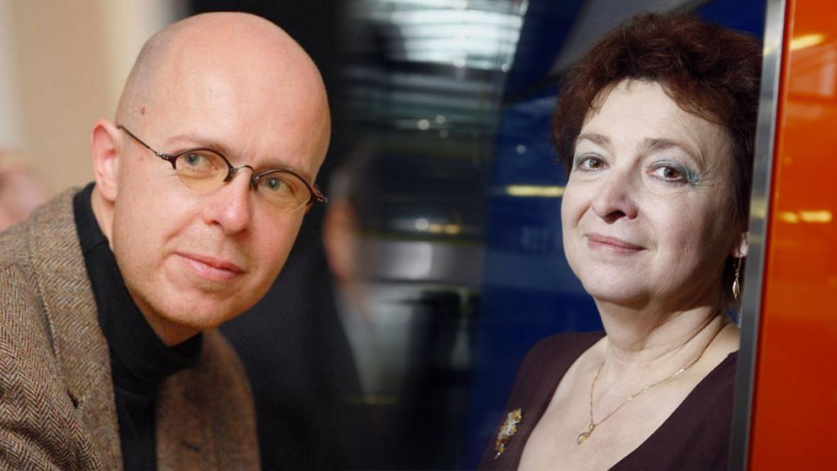 M. C. Putna a Vladimíra Dvořáková