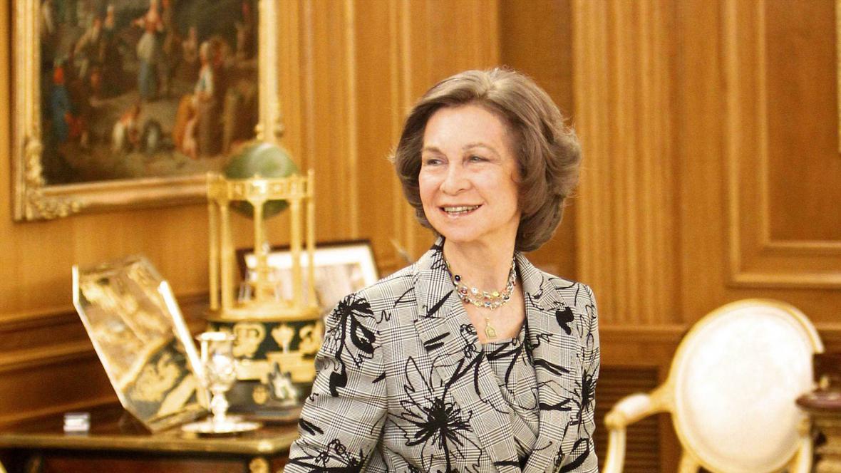 Španělská královna Sofie