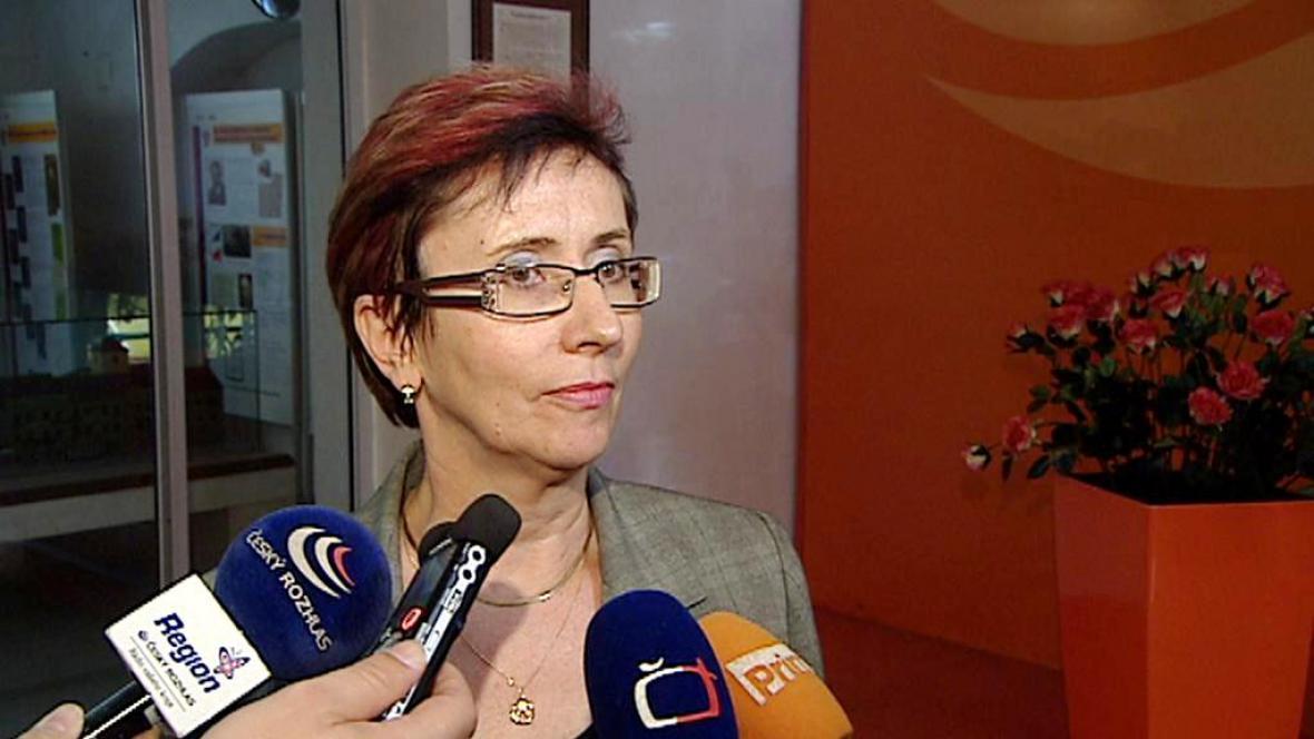 Pověřená hejtmanka Středočeského kraje Zuzana Moravčíková (ČSSD)