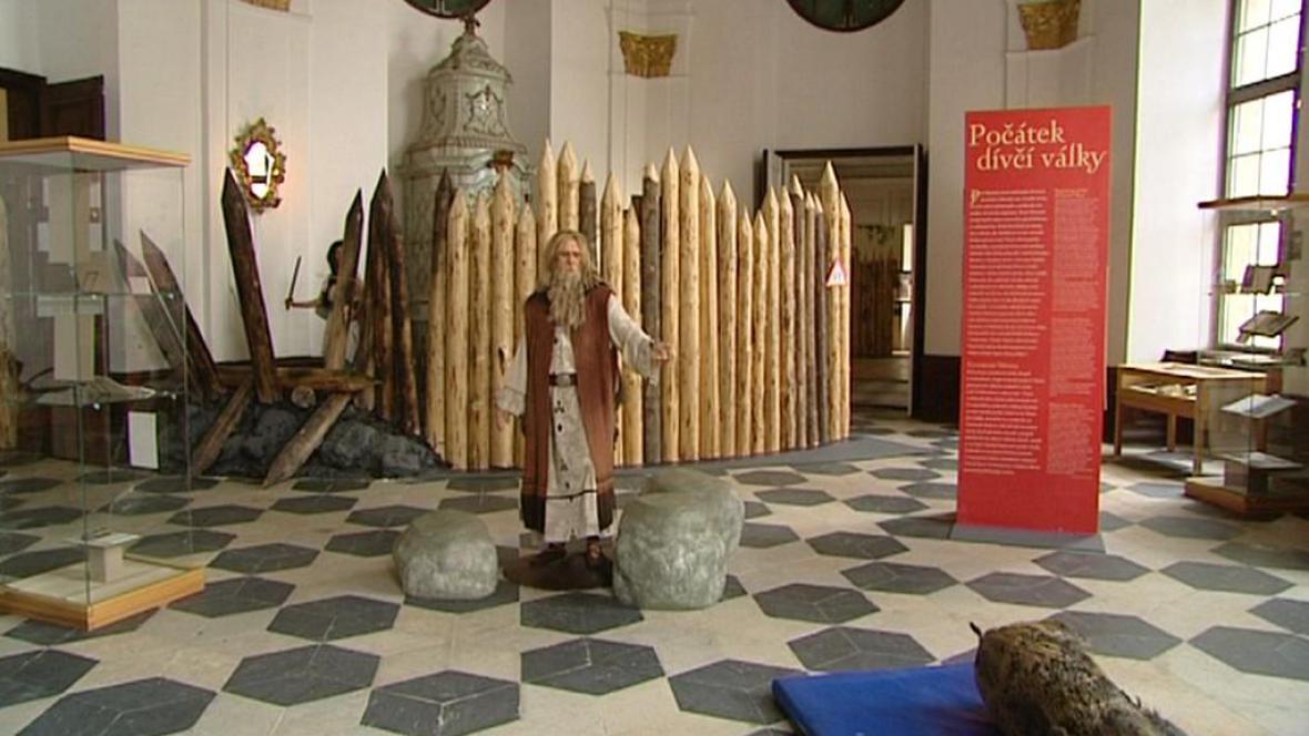 Z výstavy Staré pověsti české v Muzeu knihy