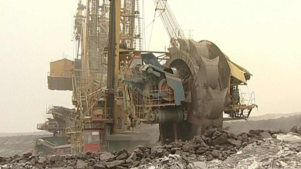 Povrchová těžba