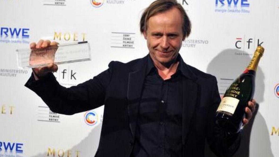 Karel Roden převzal Cenu české filmové kritiky (2010)