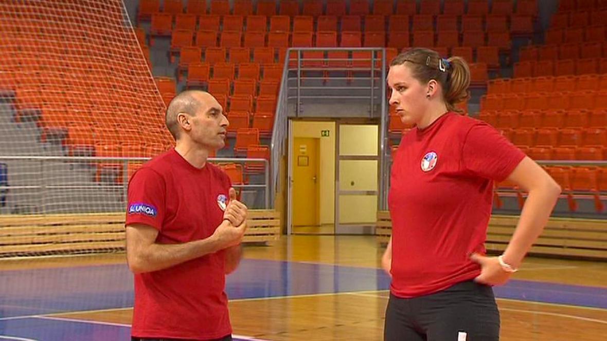 Carlo Parisi a Aneta Havlíčková
