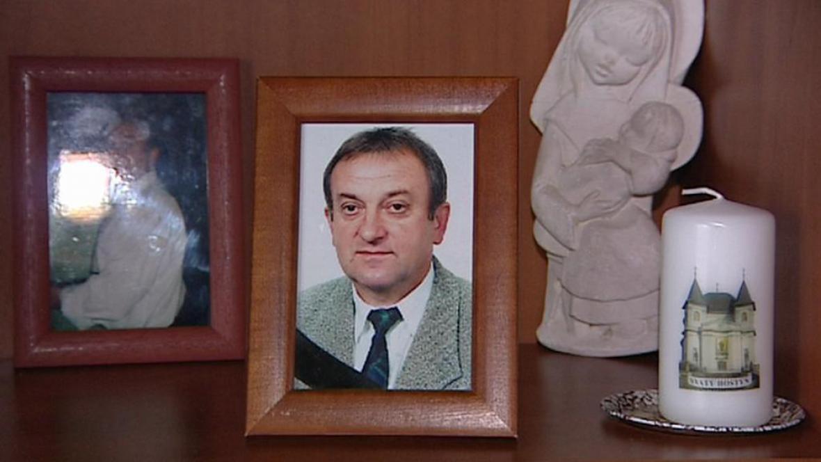 Zavražděný Ondřej Polák