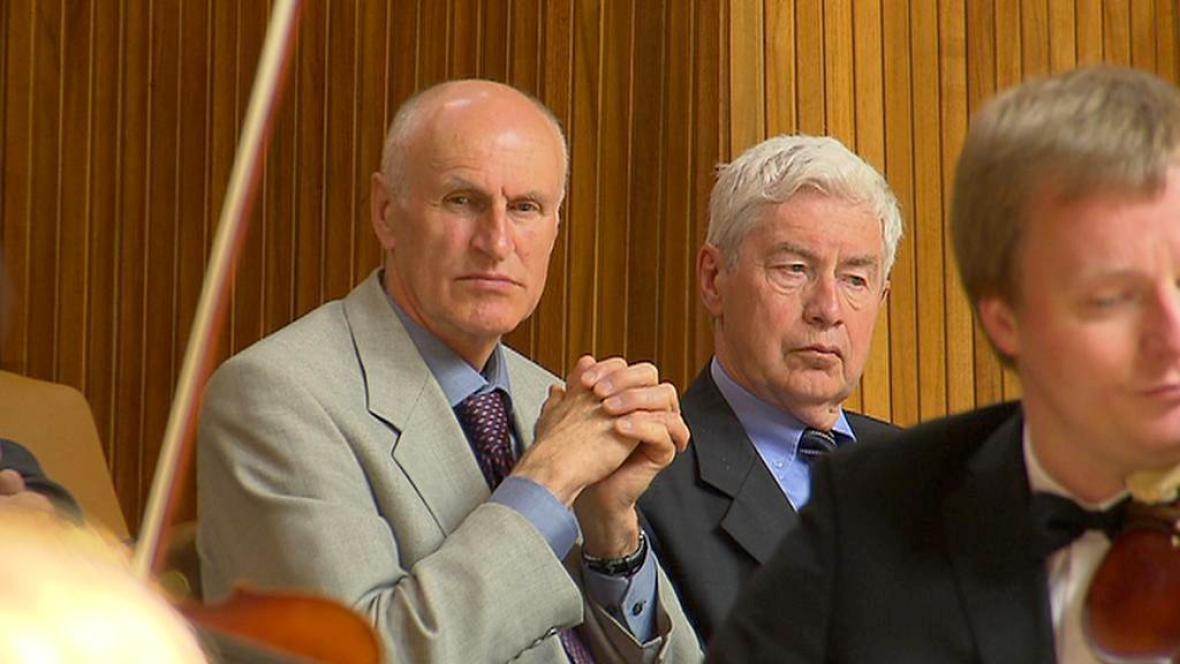Martin Hilský a Jiří Grygar