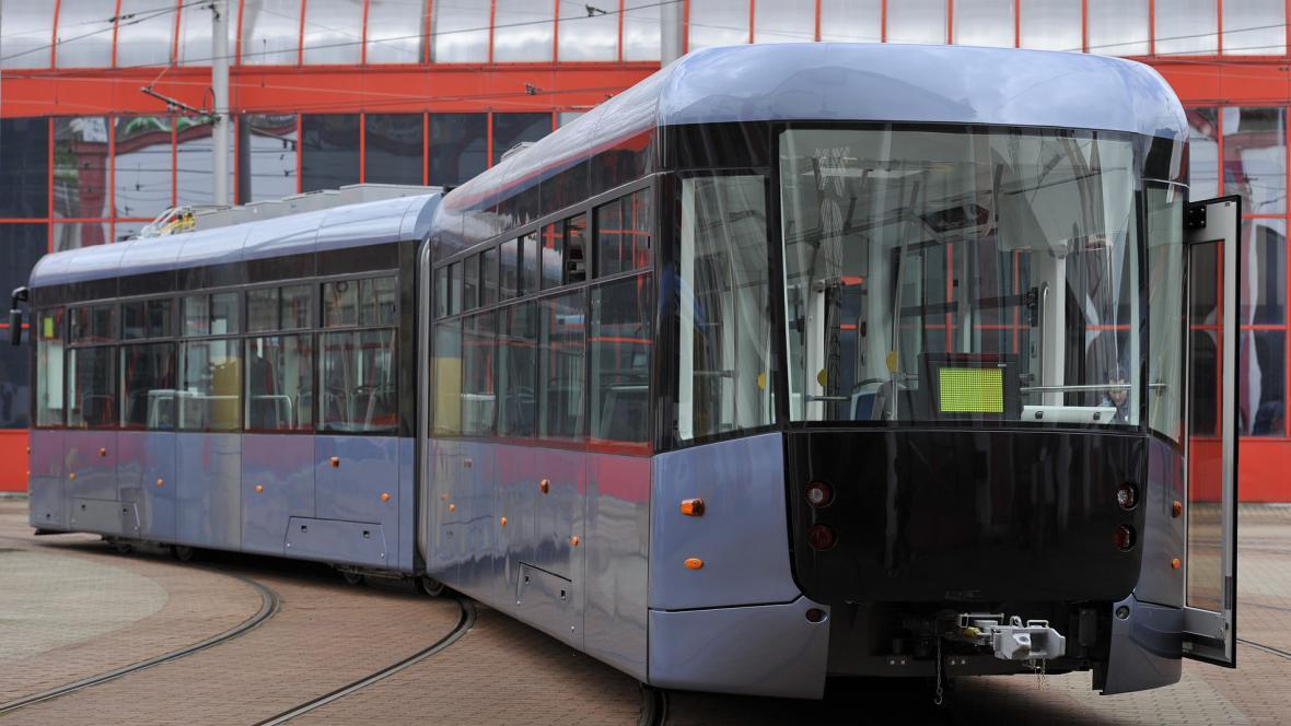Prototyp nové tramvaje pro Liberec