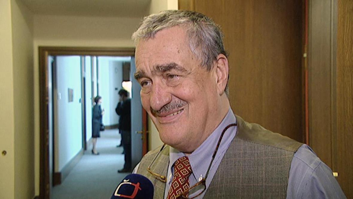 Ministr zahraničí Karel Schwarzenberg (TOP 09)