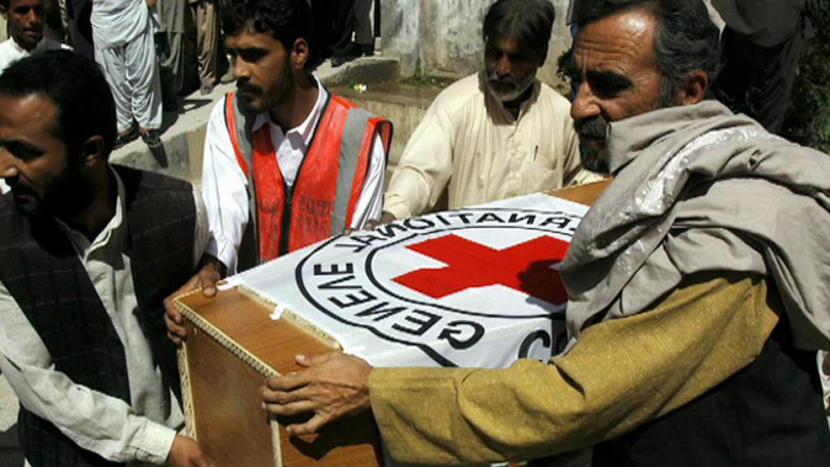 Humanitární pomoc Červeného kříže