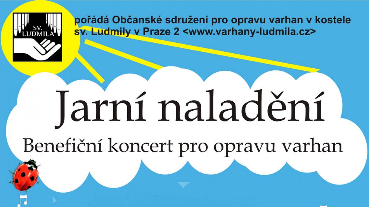 Benefiční koncert pro varhany 2012