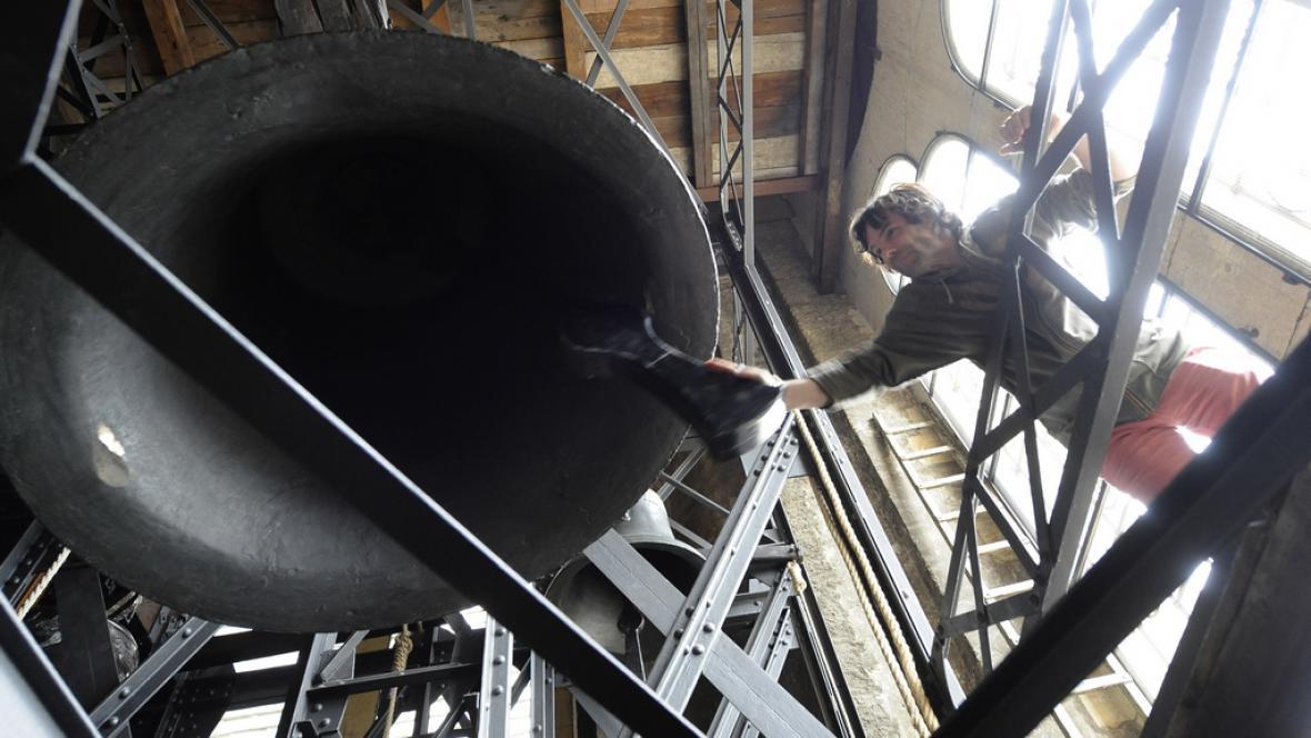 Ve svatovítské katedrále se rozezněly nové zvony