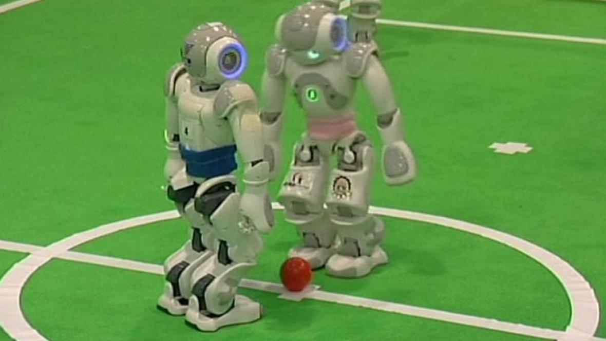 Fotbalisté-roboti z Íránu