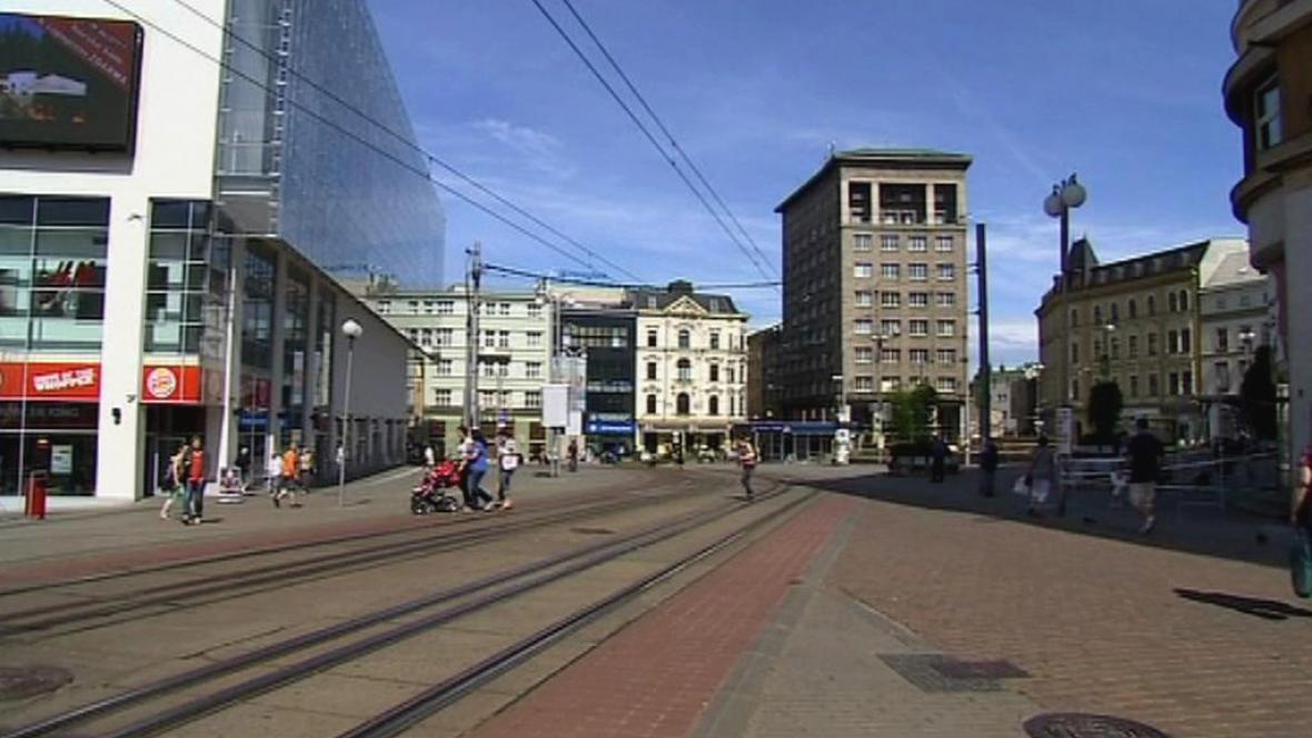 Soukenné náměstí v Liberci