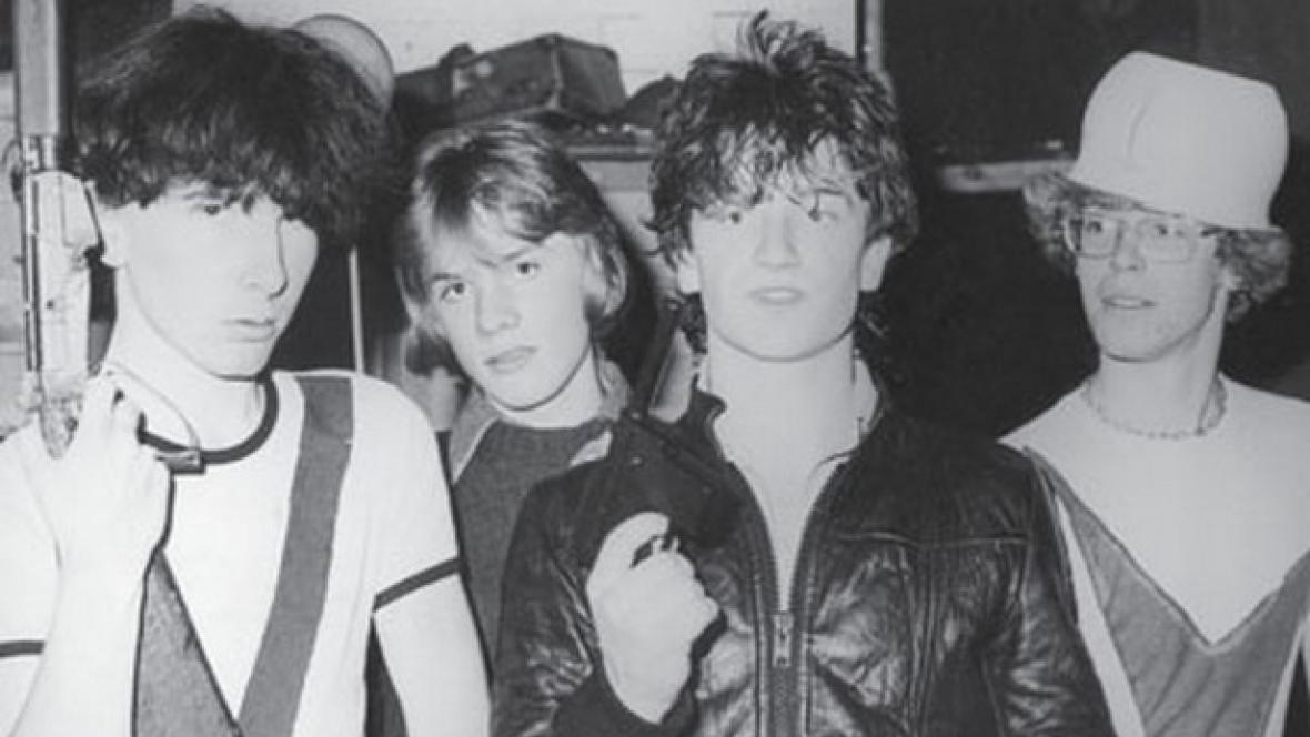 Plakát k výstavě U2 1978-1981