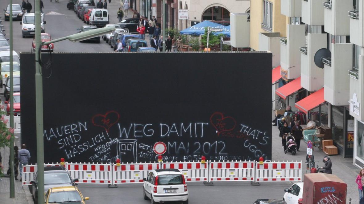 Nová berlínská zeď
