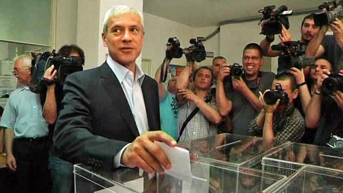 Boris Tadič u volební urny