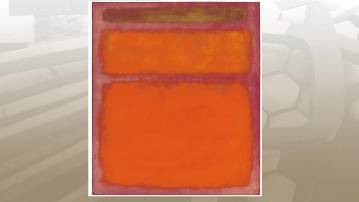 Mark Rothko / Orange, Red, Yellow