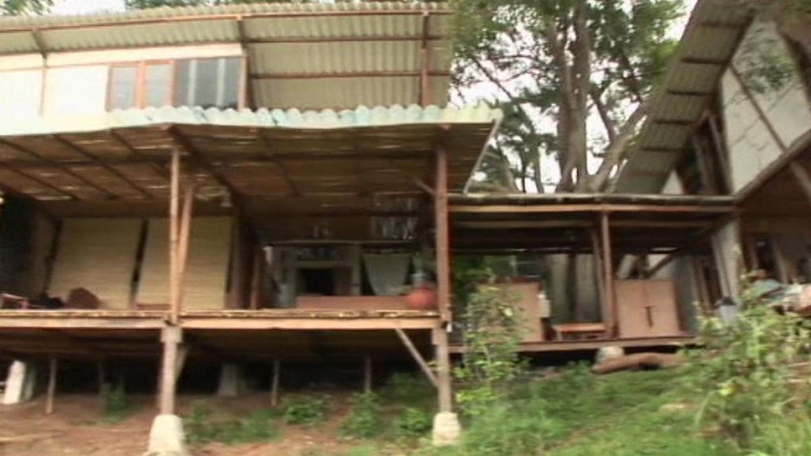 Dům z materiálu z druhé ruky
