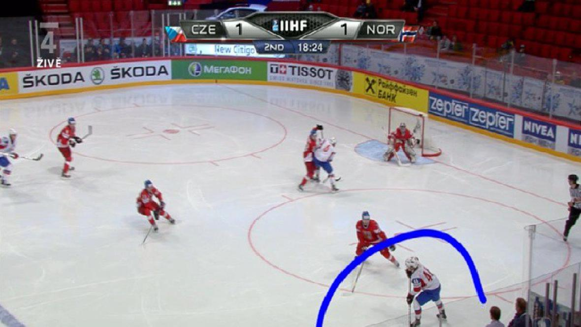 Druhý gól Norů