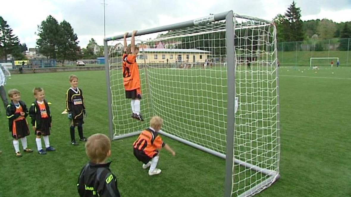 Nová fotbalová branka