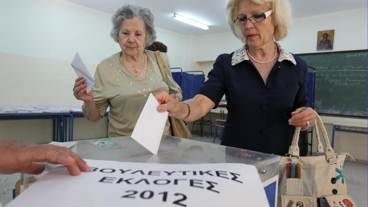 Řecké volby