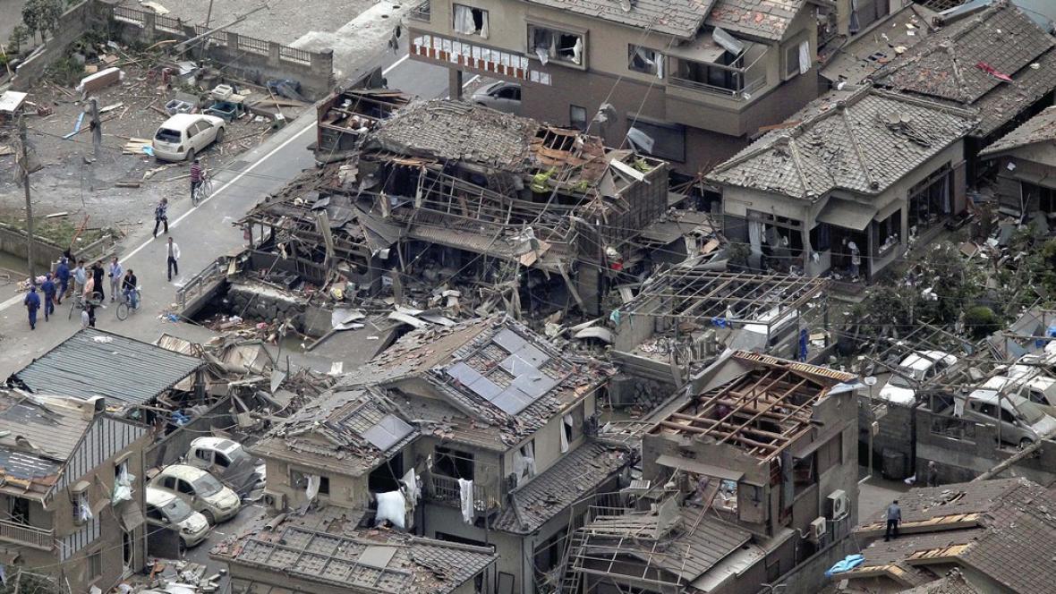 Tornádo v Japonsku