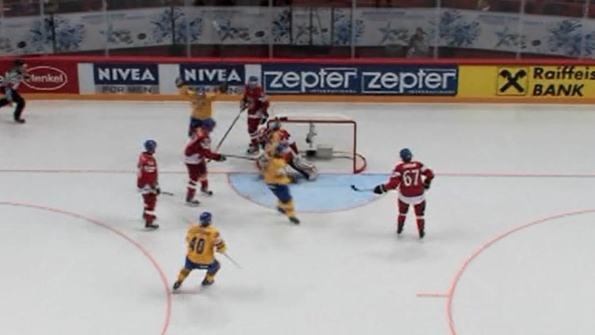 Druhý gól Švédů