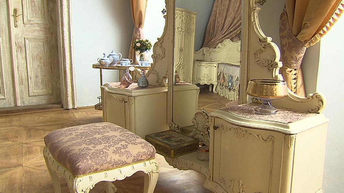 Interiér zámku Radíč