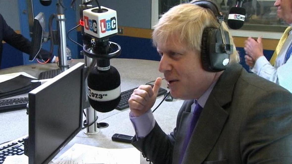 Konzervativec Boris Johnson