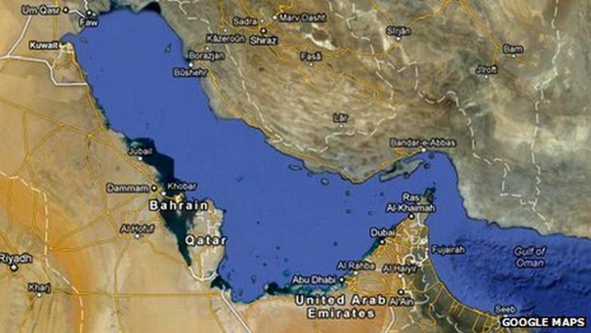 Perský záliv na Google Maps chybí