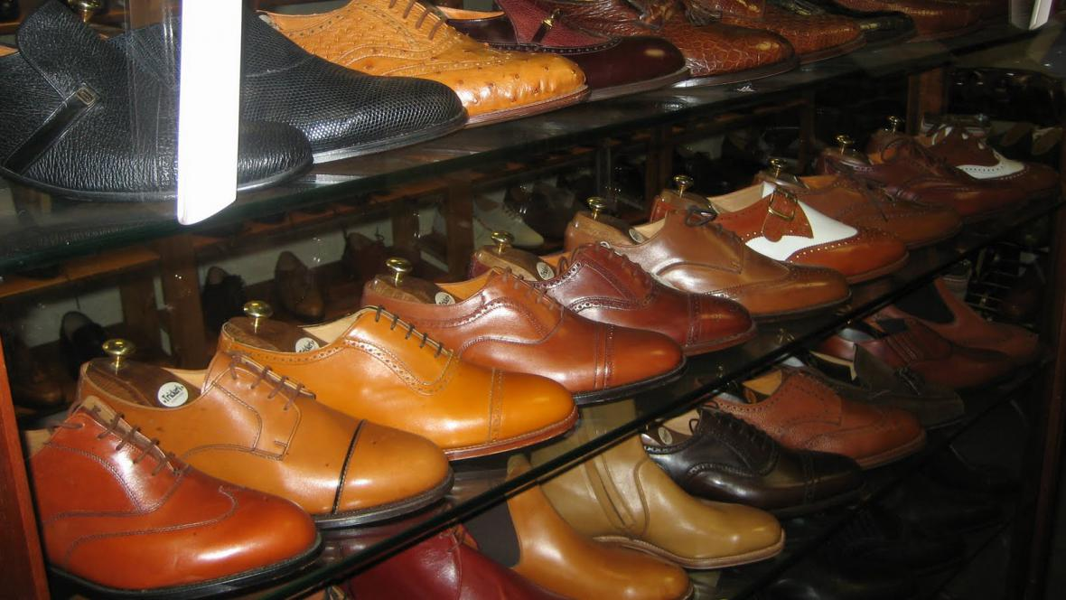 Prodejna bot v Northamptonu