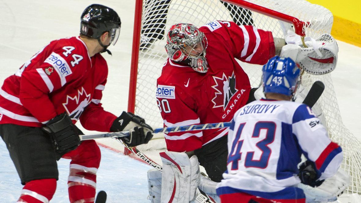 Utkání Kanada - Slovensko