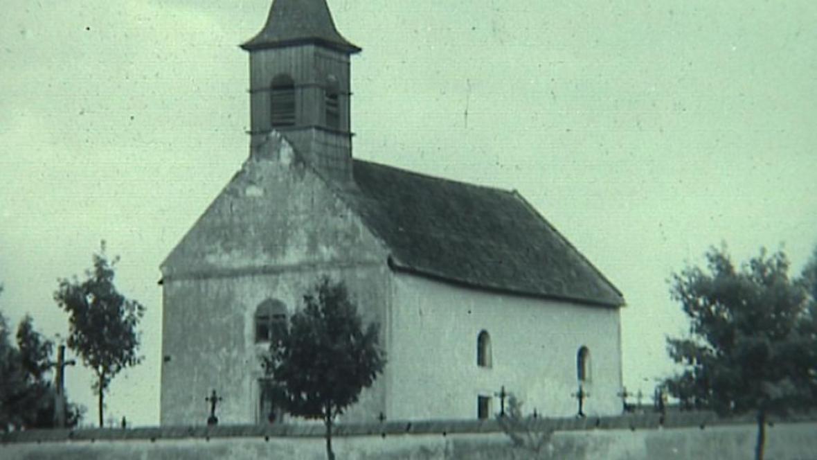 Románský kostel v Mnichu
